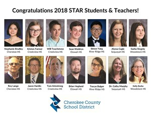 Photos of Star students and teachers