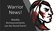 Warrior Announcements
