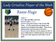 player of the week