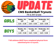 UPDATED TRYOUTS