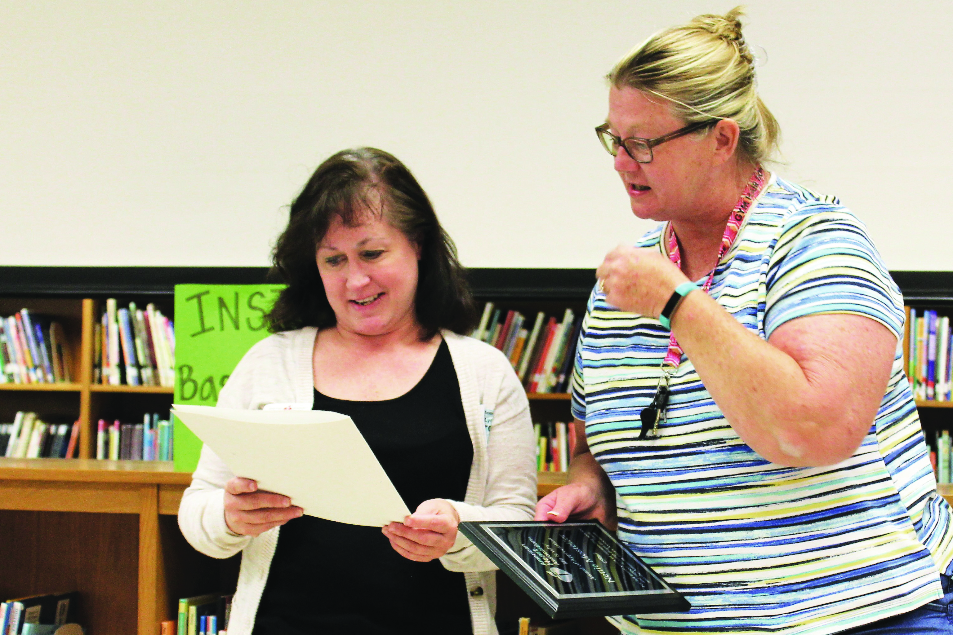 Bascomb ES Teacher Honored for Service to American Heart Association