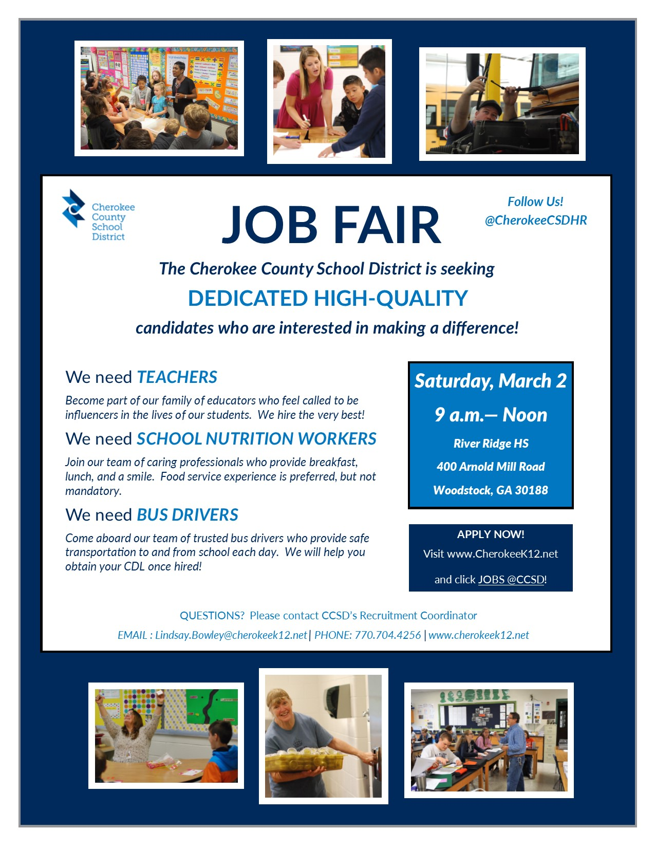CCSD 2019 Job Fair - March 2