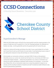CCSD Connections Dec 2020 image