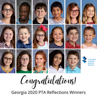CCSD Georgia PTA Reflections Winners 2020 9 14 20