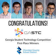 CCSD Georgia Student Technology Winners 6 9 2020
