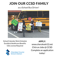 CCSD school bus driver ad 11 9 2020