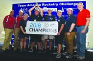 2018 Team America Rocketry Challenge - Creekview HS
