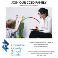 CCSD School Psychologist job ad 2019