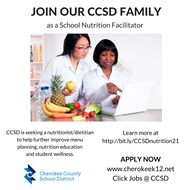 job ad School Nutrition Facilitator 3 11 21