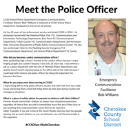 meet officer Bob Williams 11 5 19