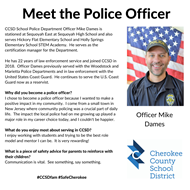meet officer Mike Dames SHS 12 17 19