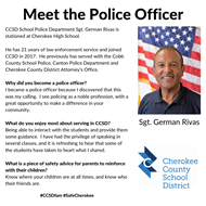 meet officer Rivas - Cherokee HS 10 15 19