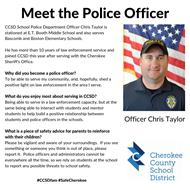 meet the officer ET Booth MS - Chris Taylor 9 17 19