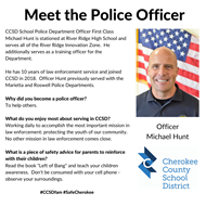 meet the officer Michael Hunt RRHS 1 14 20