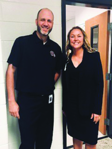 Dr. Jennifer Reynolds and Greg Koch of Teasley Middle School have earned the Georgia Council for Exceptional Children's Co-Teaching Team of the Year Award for 2017-18.