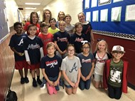 Braves Spirit Day