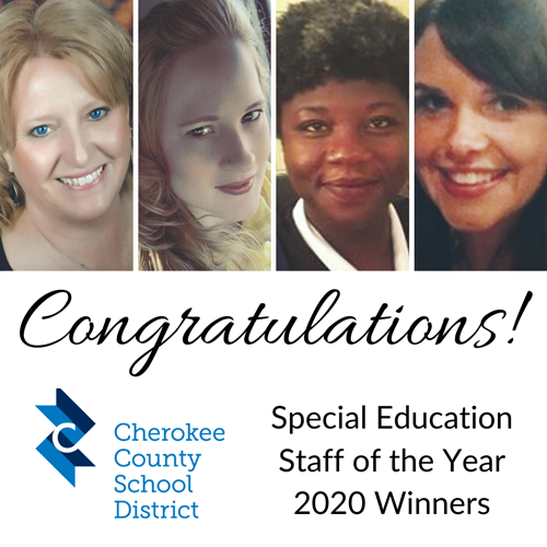 CCSD 2020 Special Education Staff of the Year 5 19 20