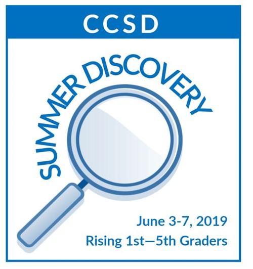 CCSD Summer Discovery logo 2019
