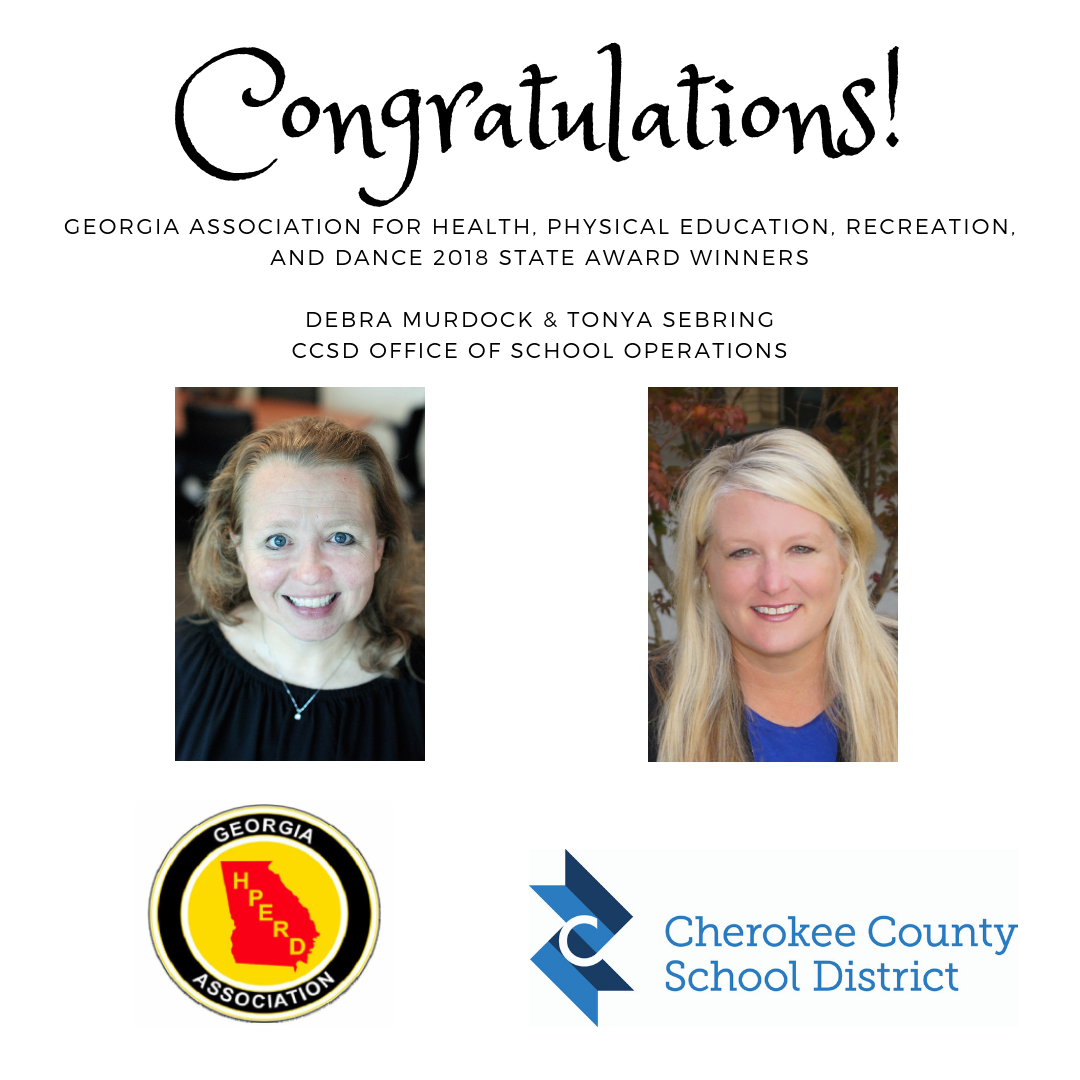 GAHPERD State award winners 2018