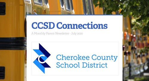 image CCSD Connections parent newsletter July 2020