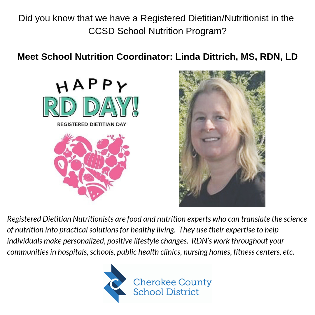 2019 Registered Dietitian Day 3 13 19