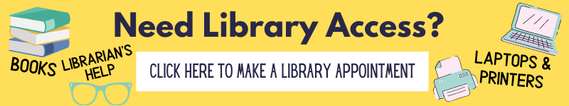 Library Appt Button
