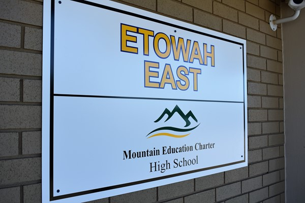 Mountain Ed signage