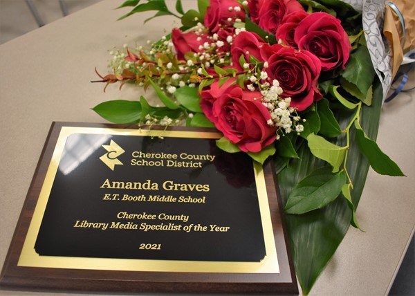 Surprise award- Media Specialist of the Year