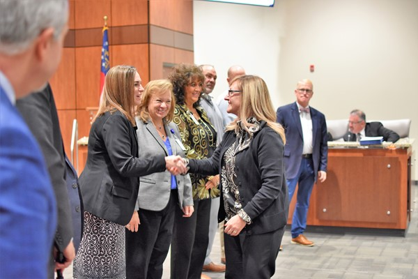 assistant principal recognition by board members