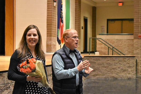 award presented to media specialist