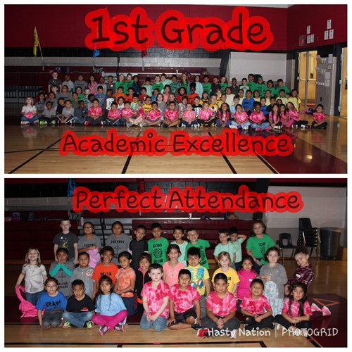 1st Grade Academics and Attendance