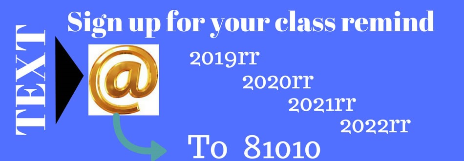 Sign up for your class remind account