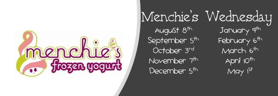 menchies logo with dates