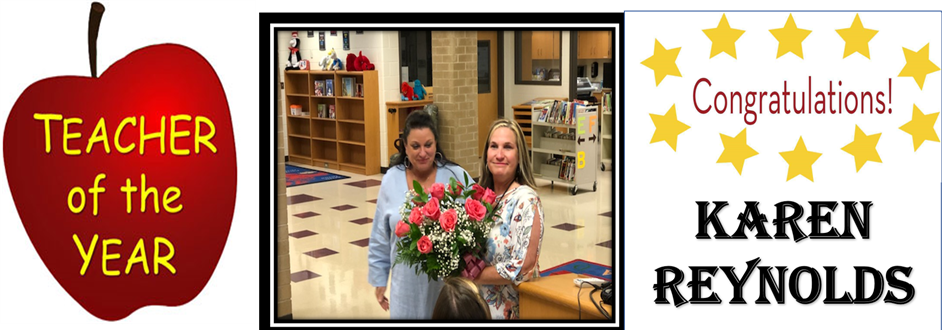 teacher of the year picture: Karen Reynolds