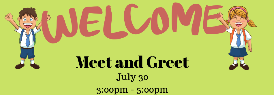 Date for 2019-2020 Meet and Greet