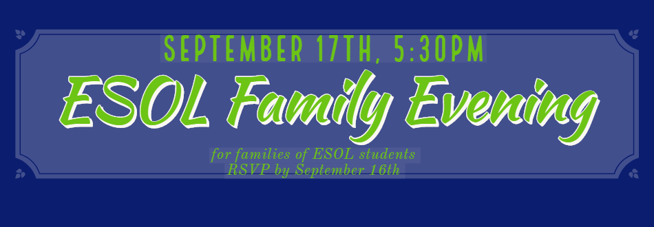 ESOL Family Evening