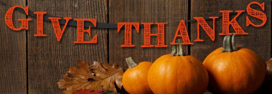 give thanks with pumpkins