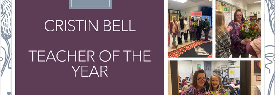 Ms. Bell Teacher of the Year