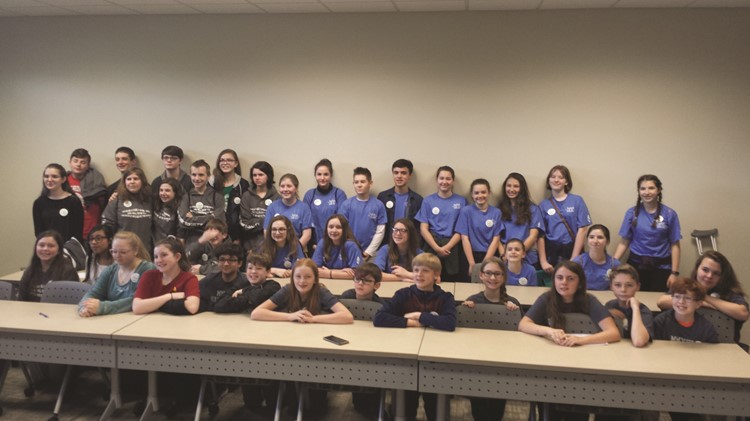 CCSD middle schools swept their Reading Bowl competition, with Freedom Middle School winning first, followed by Dean Rusk MS in second and Teasley MS in third.