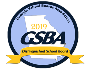 gsba 2019 distinguished school board logo