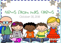 news from mrs. crews