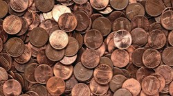 photo of pennies