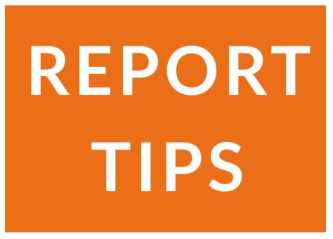 report tips artwork