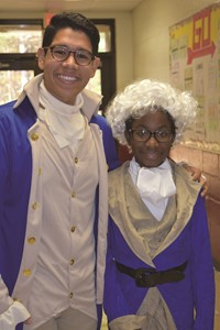 Colonial Days 1 - Teacher and Student