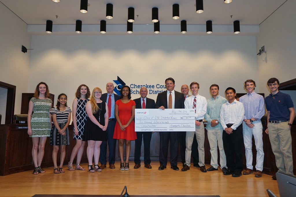 Aramark Scholarship Winners 2016