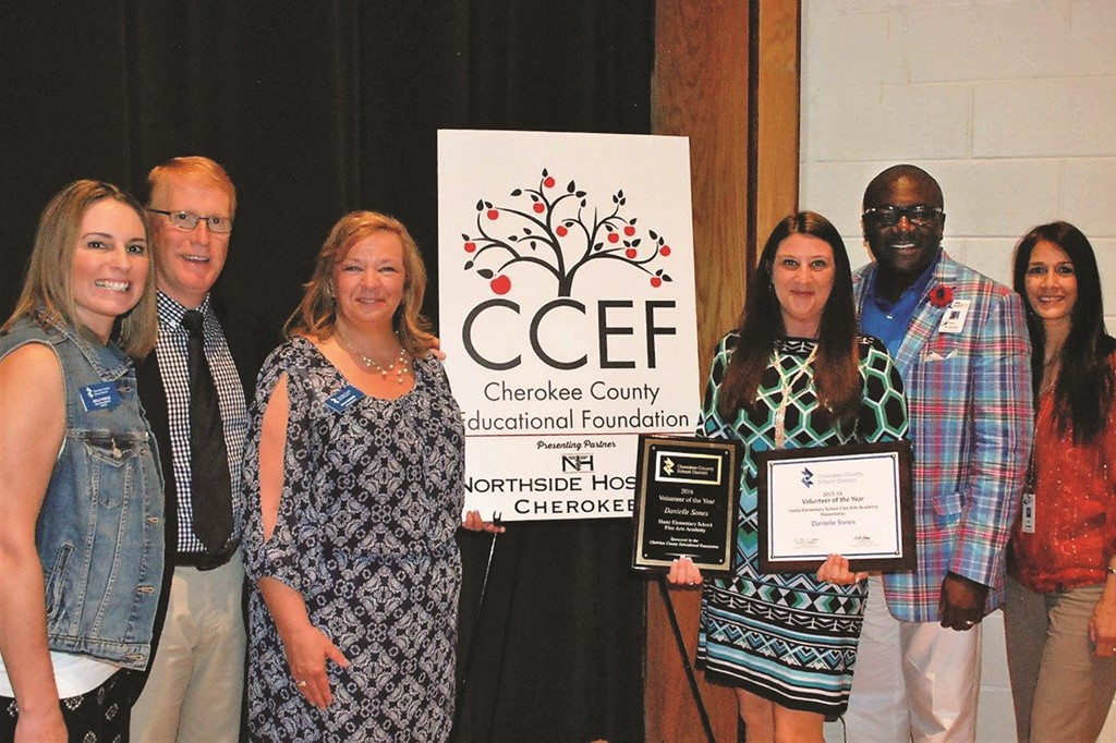CCSD 2015-16 Volunteer of the Year 4 20 16