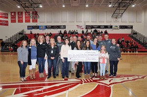 photo of check presentation