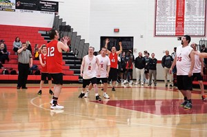 photo- special olympics players