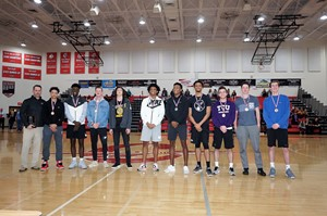photo- all county boys basketball team
