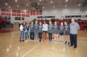 photo- all county girls basketball team